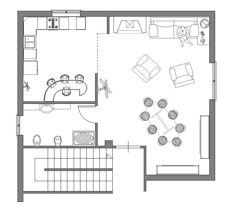 Arredo bagno archweb design casa creativa e mobili for Arredi design dwg