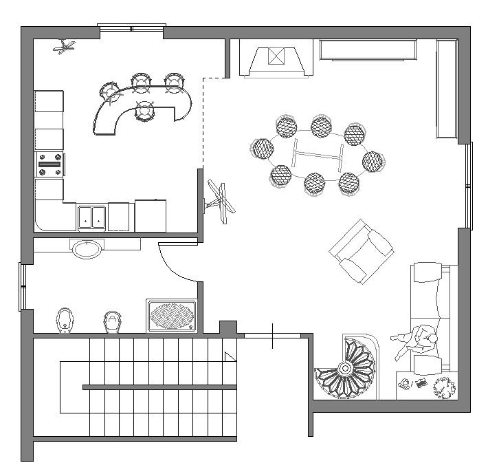 dwg arredamento « alfageometra.it - Arredo Design Dwg